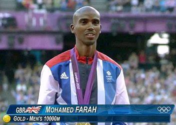 Olympics 2012: Mohamed Farah