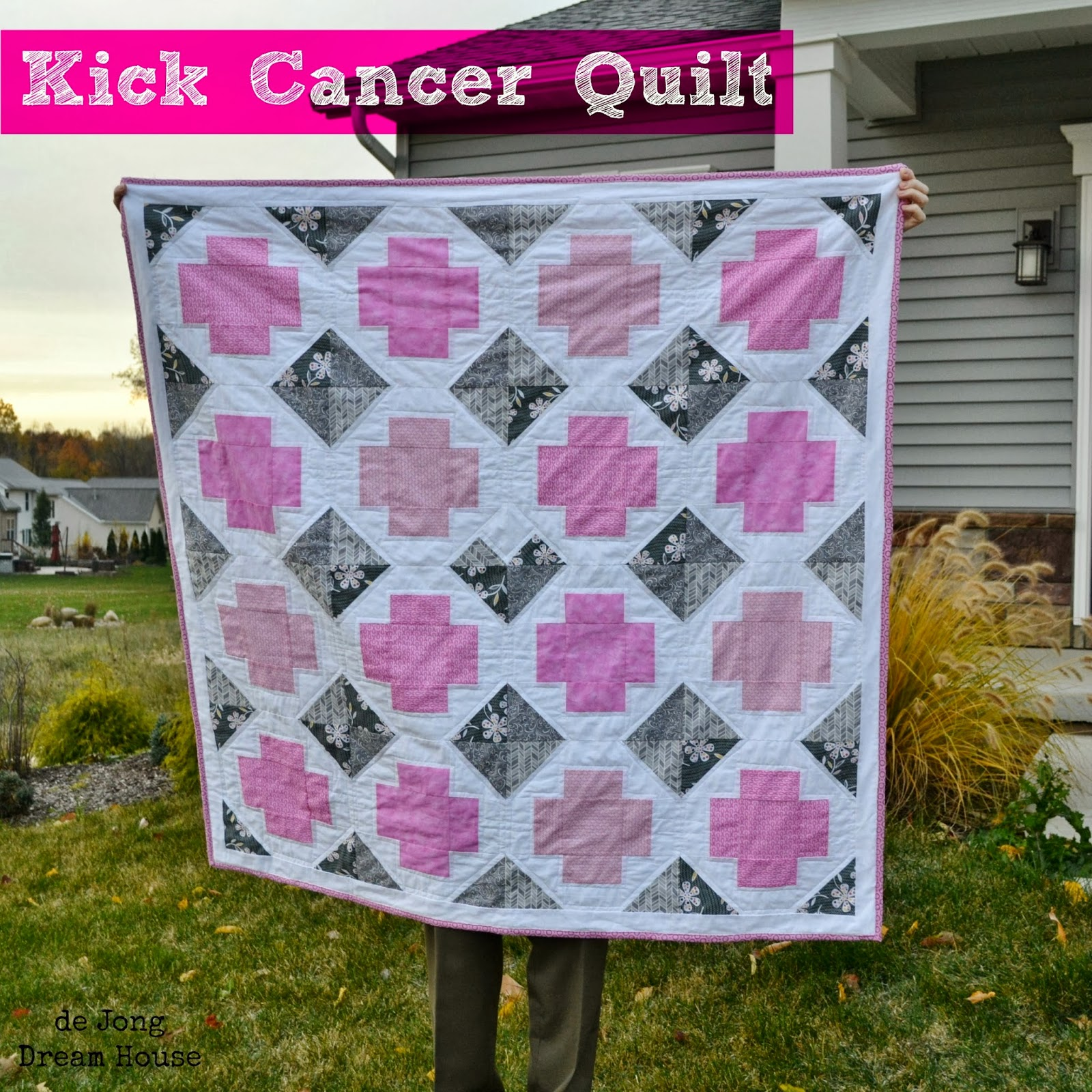 Michele's Kick Cancer Quilt