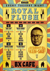 Royal Flush @ BX Cafe, Shibuya