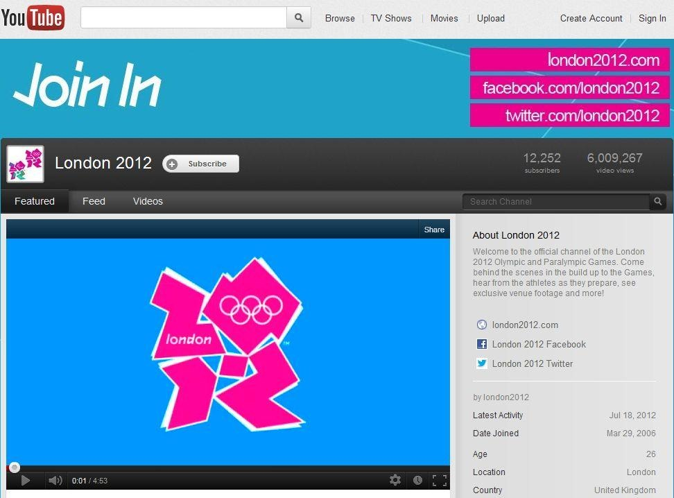Tech Pivi Watch London Olympic Games 2012 Online Live