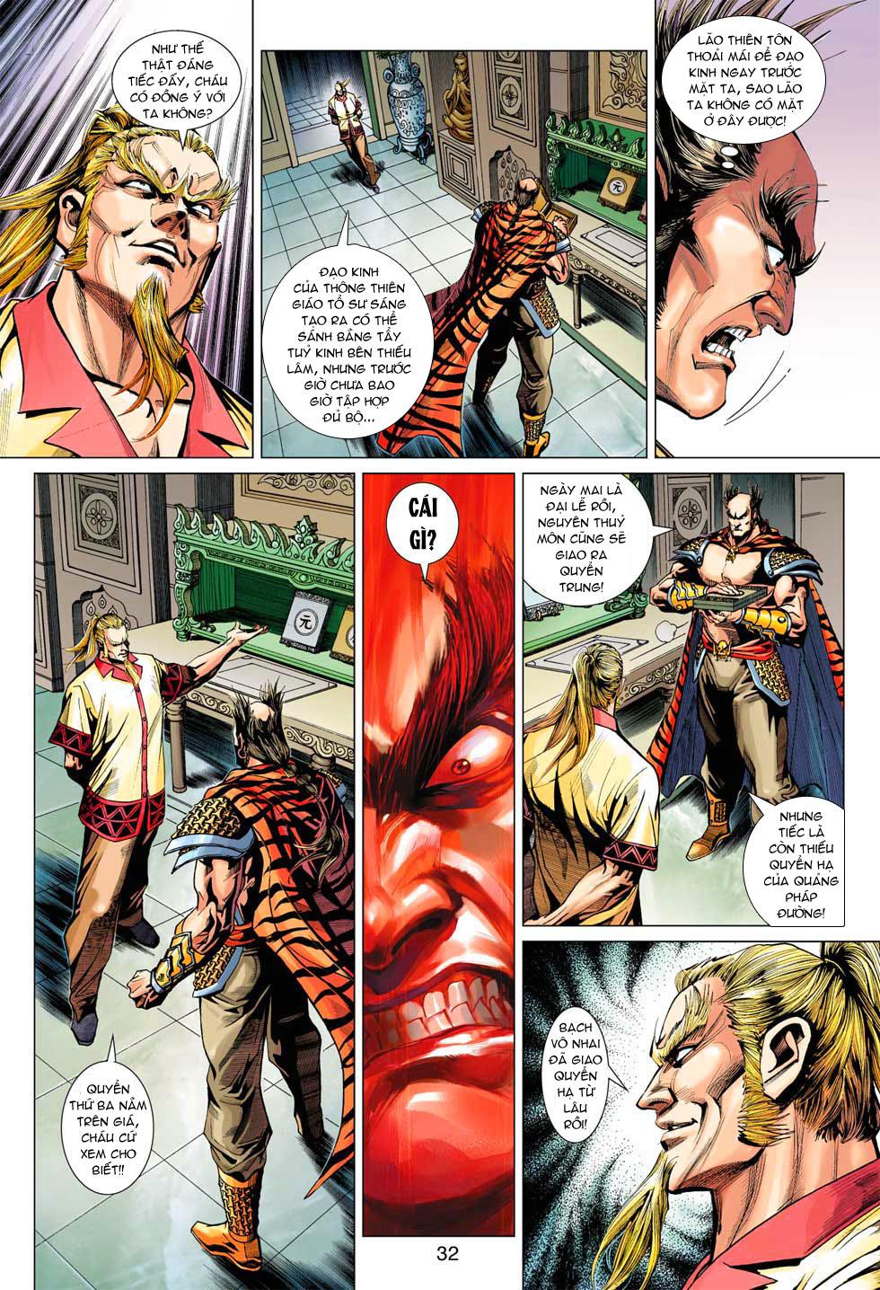 Tân Tác Long Hổ Môn chap 369 - Trang 32