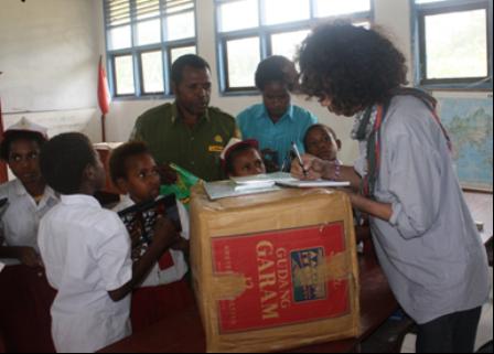 Solidaritas Anda Sudah Kami Salurkan Di Papua Chelluz Pahun