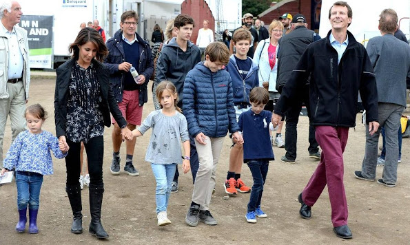 Princess Marie And Prince Joachim Attended The Tønder Festival