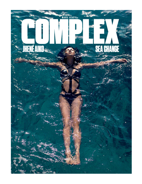 Jhené Aiko by Marcus Hyde for Complex Magazine April 2014