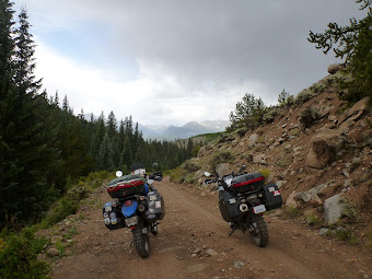 BMW F650GS and a KLR 650