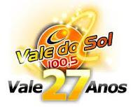 ouvir a Rádio Vale do Sol FM 100,5 Santo Antônio da Platina PR