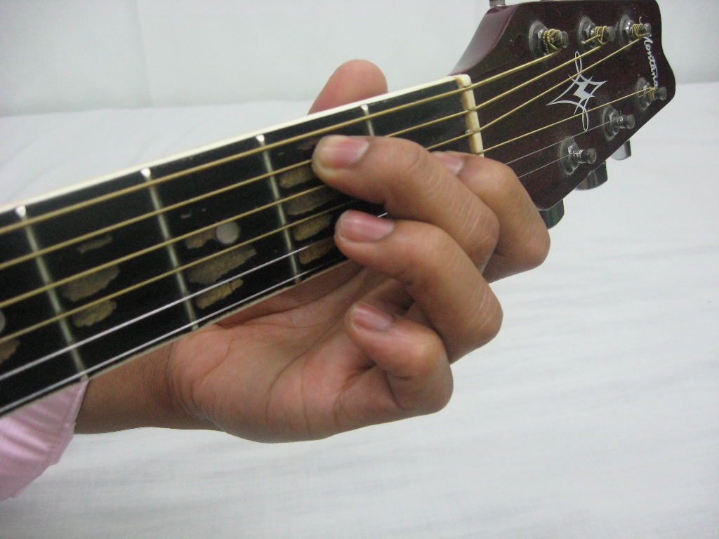 Outstanding E7 Chord Guitar Finger Position Vignette Beginner