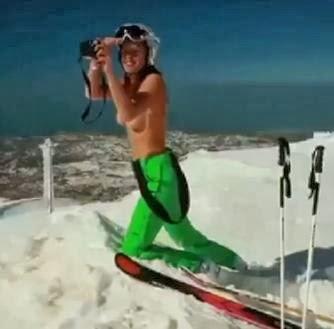 Jackie Chamoun topless, Jackie Chamoun, Sochi Olympics, 2014 Winter Olympics, Jackie Chamoun nude