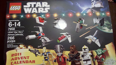 Box Front Star Wars Lego Advent Calendar