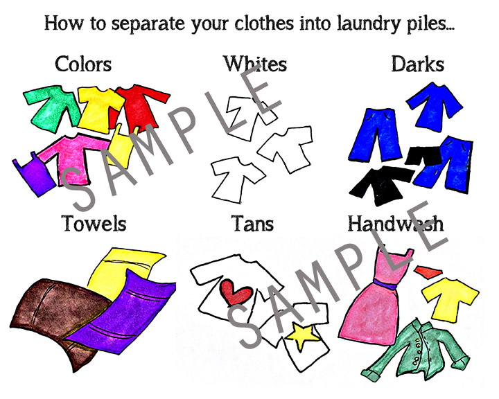 Clothes Sorting By Color ~ I heart chore charts printable for kids