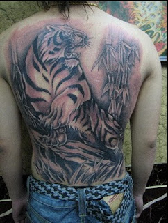japanese tiger tattoo images