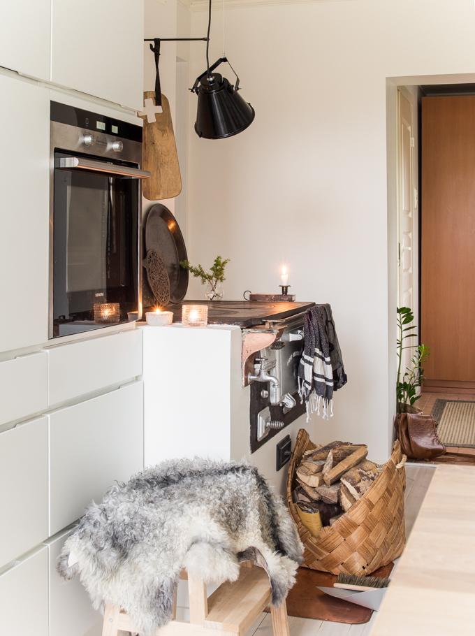 kvik mano moderni keittiö puuliesi kodikas sisustusblogi