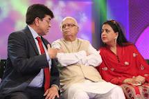 With Shri LK advani & Pratibha advani at DDK Mumbai