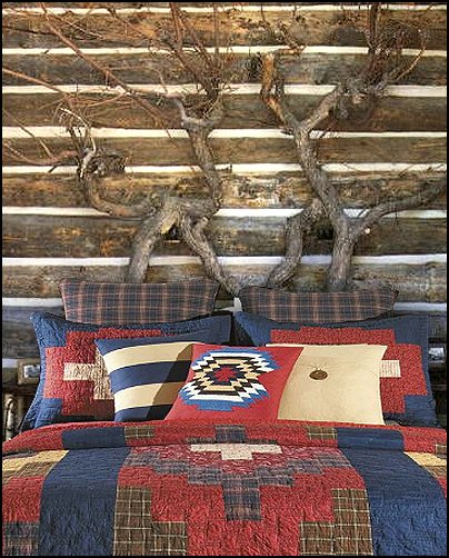 Lodge and Cabin Bedding