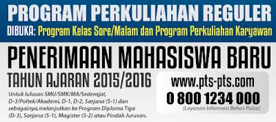 Program Kelas Karyawan dan Reguler
