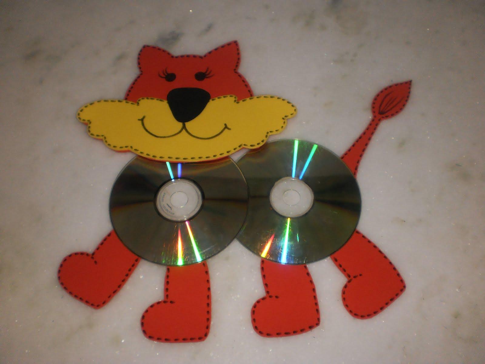 Peti itumbiara arte com cd usado - Manualidades con cd usados ...