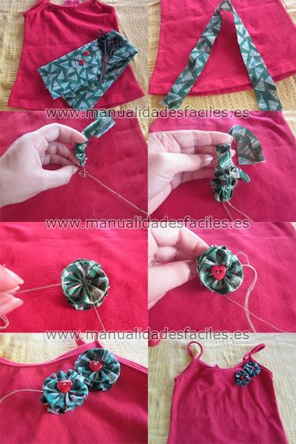 Tutoriales decora tu ropa - Como hacer manualidades con tela ...