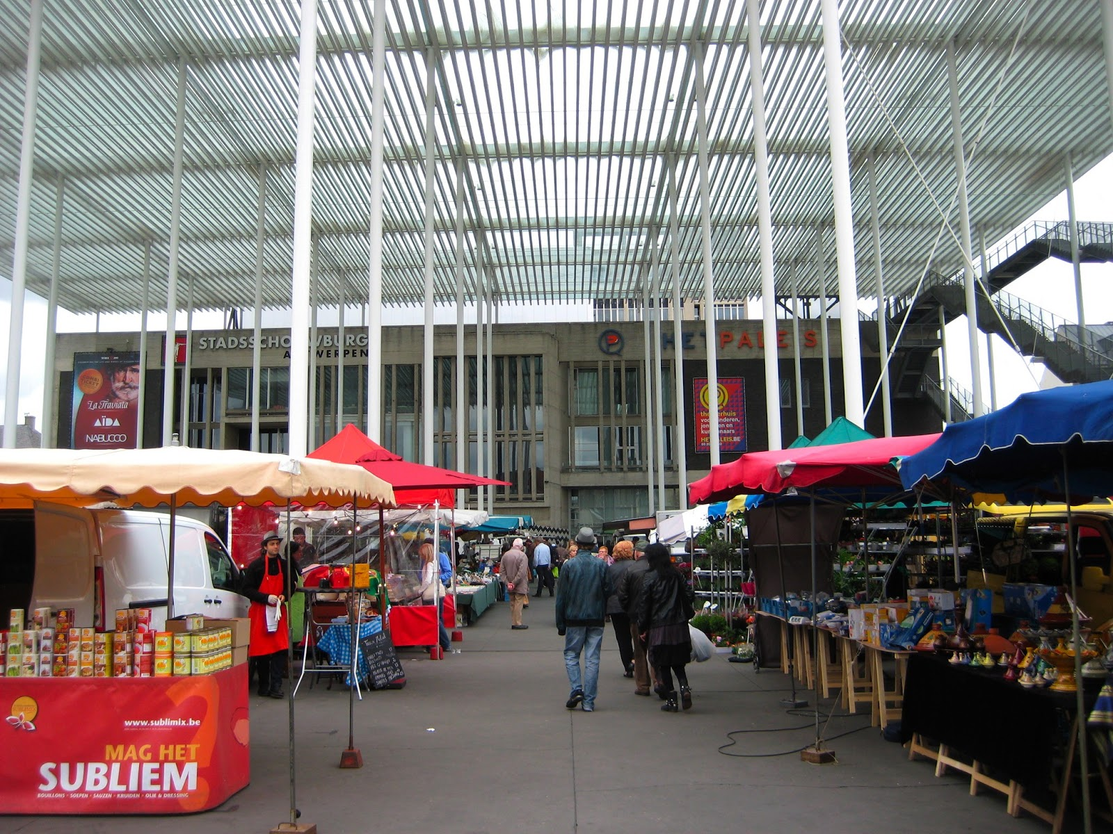 Antwerp Food Market Saturday