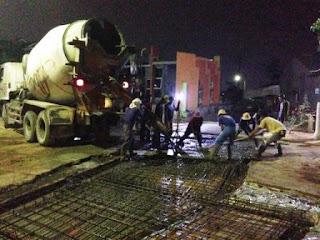 harga jasa pengecoran beton readymix
