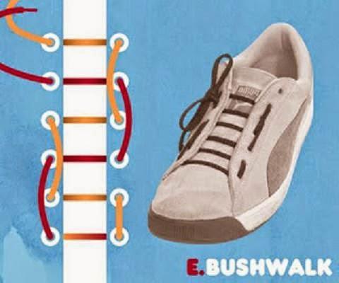 Bushwalk Lacing