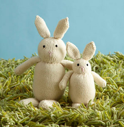 Easter Bunny Knitting Pattern : 35 Free Spring Projects to Knit - Knitionary