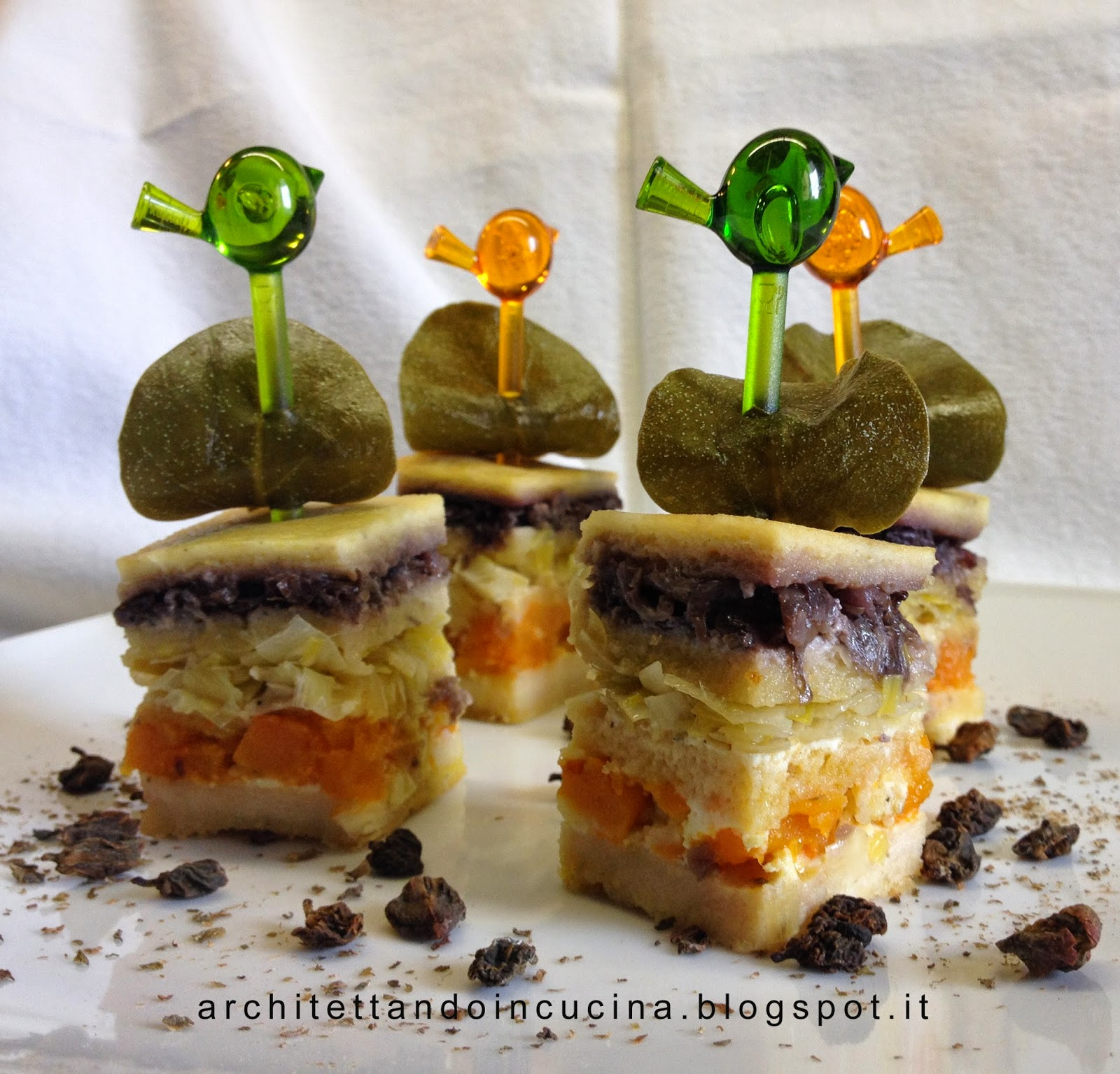 architettando in cucina: Terrina di pane e verdure di Luca ...