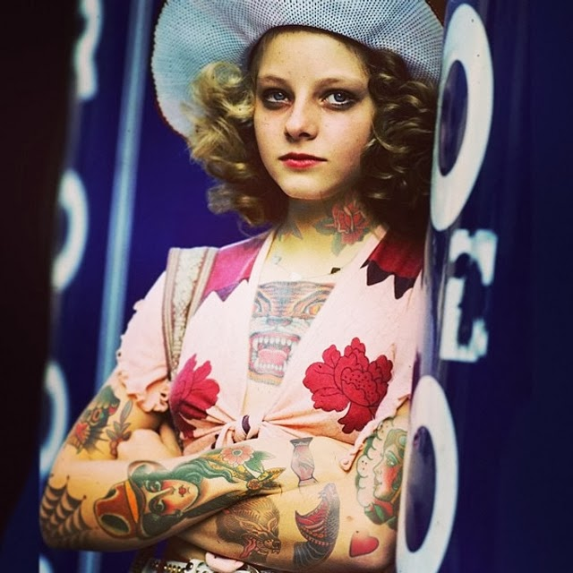 13-Jodie-Foster-Cheyenne-Randall-Shopped-Tattoos-Tattooed-Celebrities-www-designstack-co