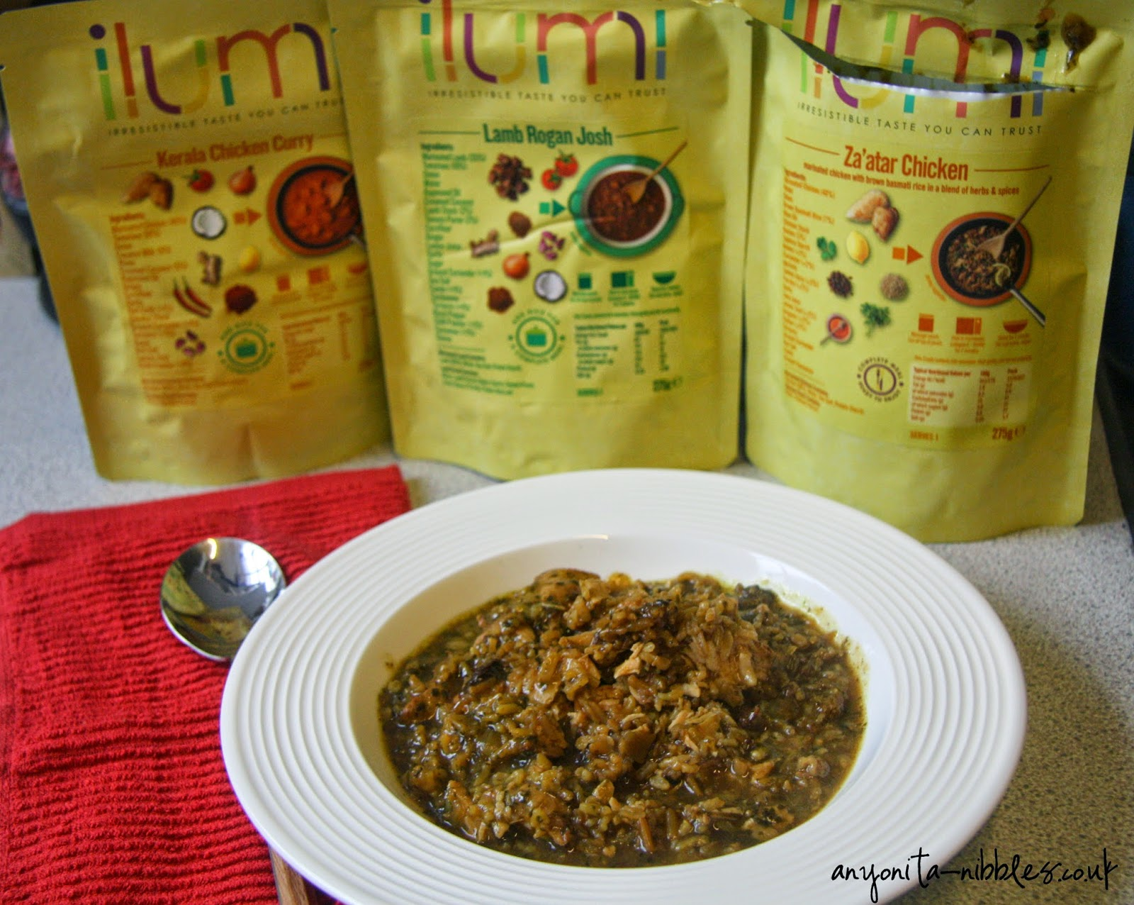 Two curries and a chicken dish from Ilumi from anyonita-nibbles.co.uk