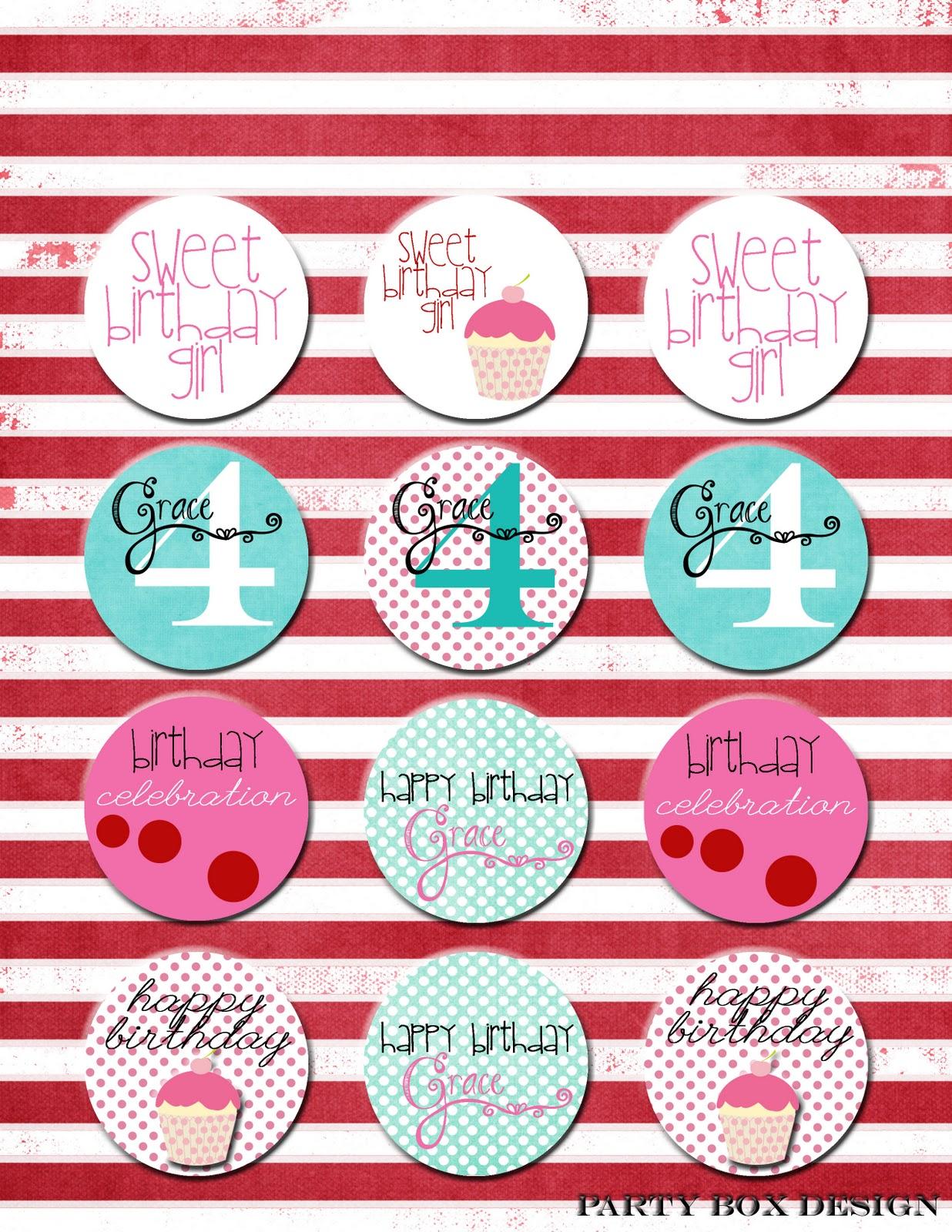 Party Box Design: February 2011