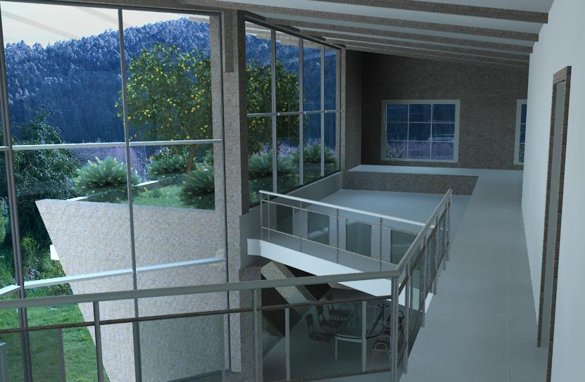Vista Interior Vista+3D+3