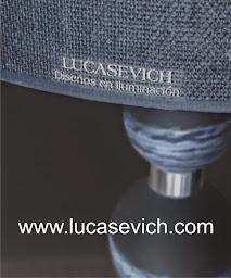 """LUCASEVICH """"diseños en iluminación """""""