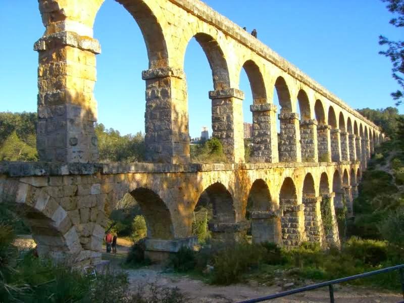 Aqueduct of Tarraco in Tarragona