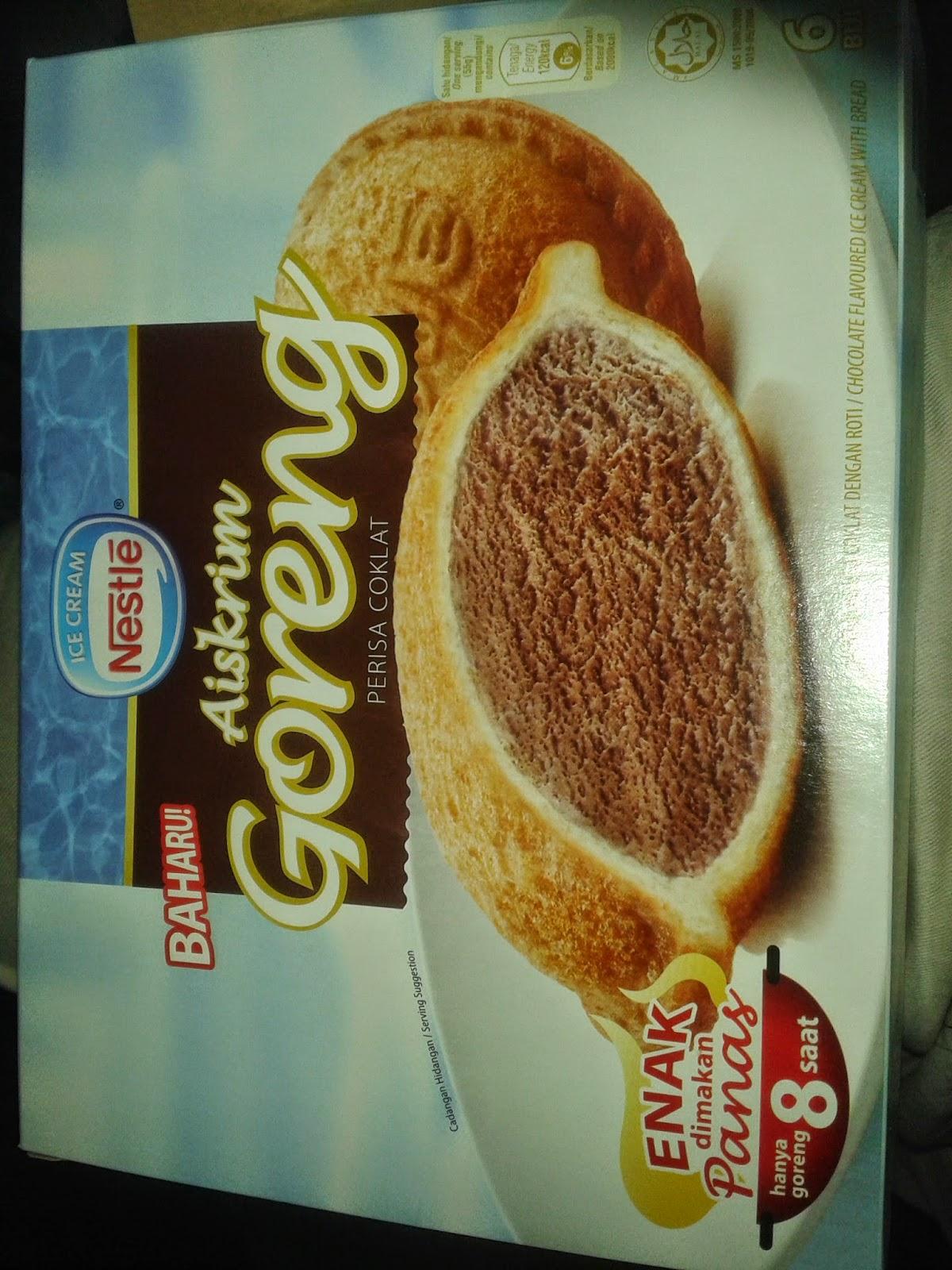 Nestle Ice-cream goreng