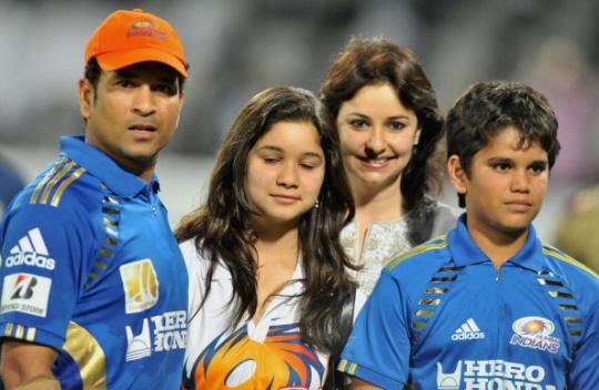 Arjun Tendulkar son of Sachin