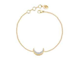 Missoma Pave Diamond Moon Charm Bracelet Jewellery Blog