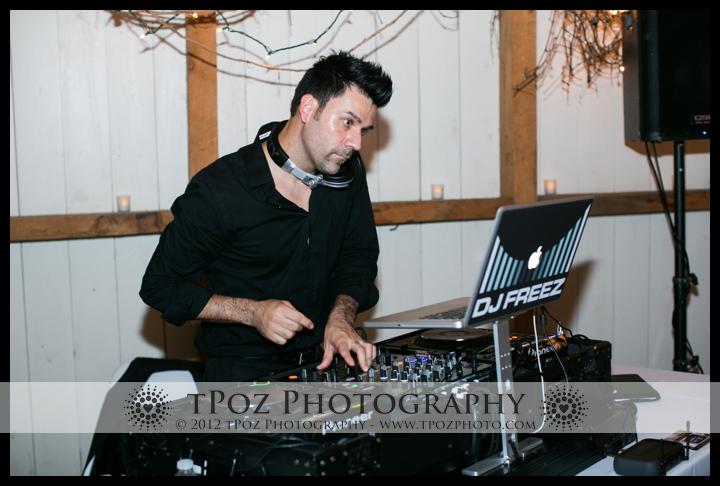 dj freez wedding reception