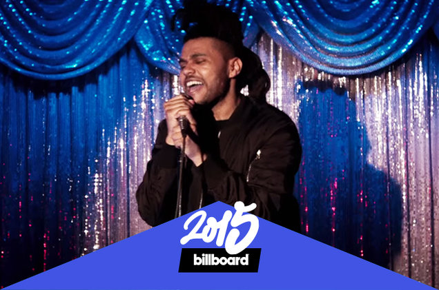 Las 25 mejores canciones del 2015 según Billboard.