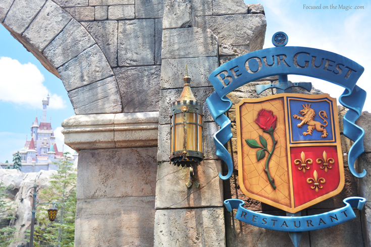 Be Our Guest Beasts Castle New Fantasyland