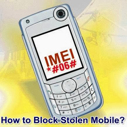 How to Block your Stolen Mobile Phone with IMEI Number ...