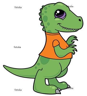Funny cartoon baby dinosaur |Funny Animal