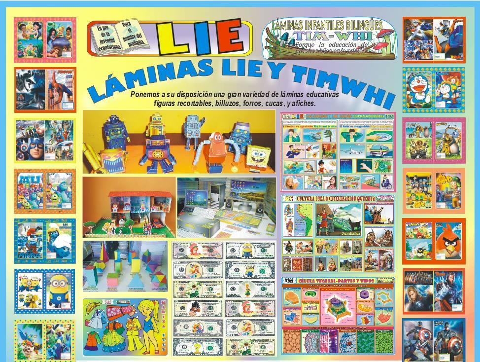 LAMINAS LIE AND TIM-WHI