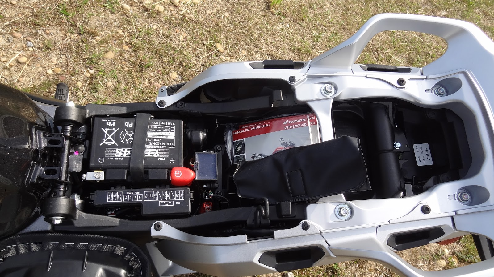 рамка для гос номера Honda VFR #10