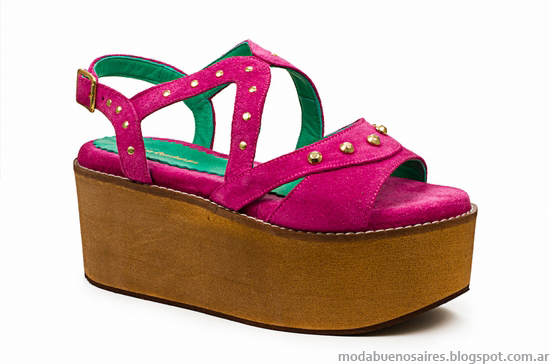Sandalias 2014 moda Laura Constanza zapatos de mujer