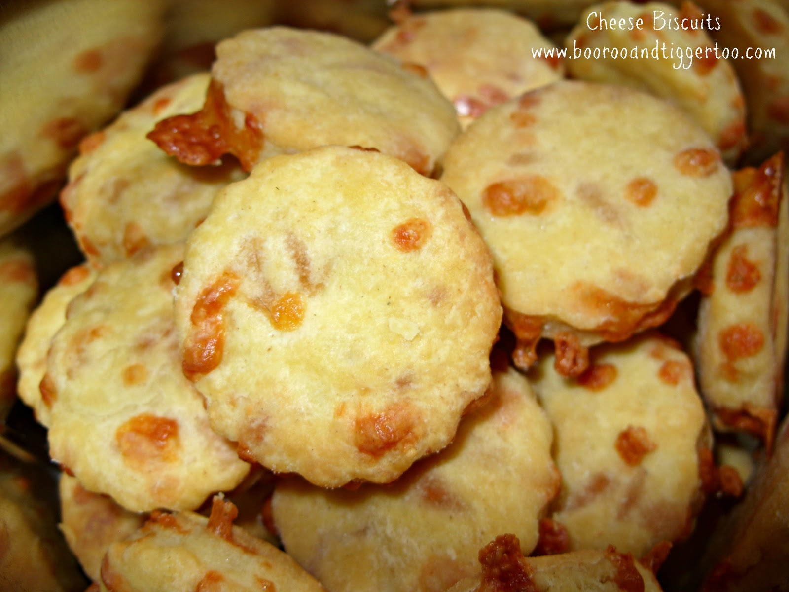 Cheese Biscuits Recipe - Boo Roo and Tigger Too