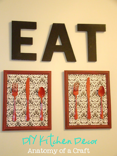 Kitchen Wall Decor Diy : Anatomy of a craft tutorial tuesday diy kitchen decor