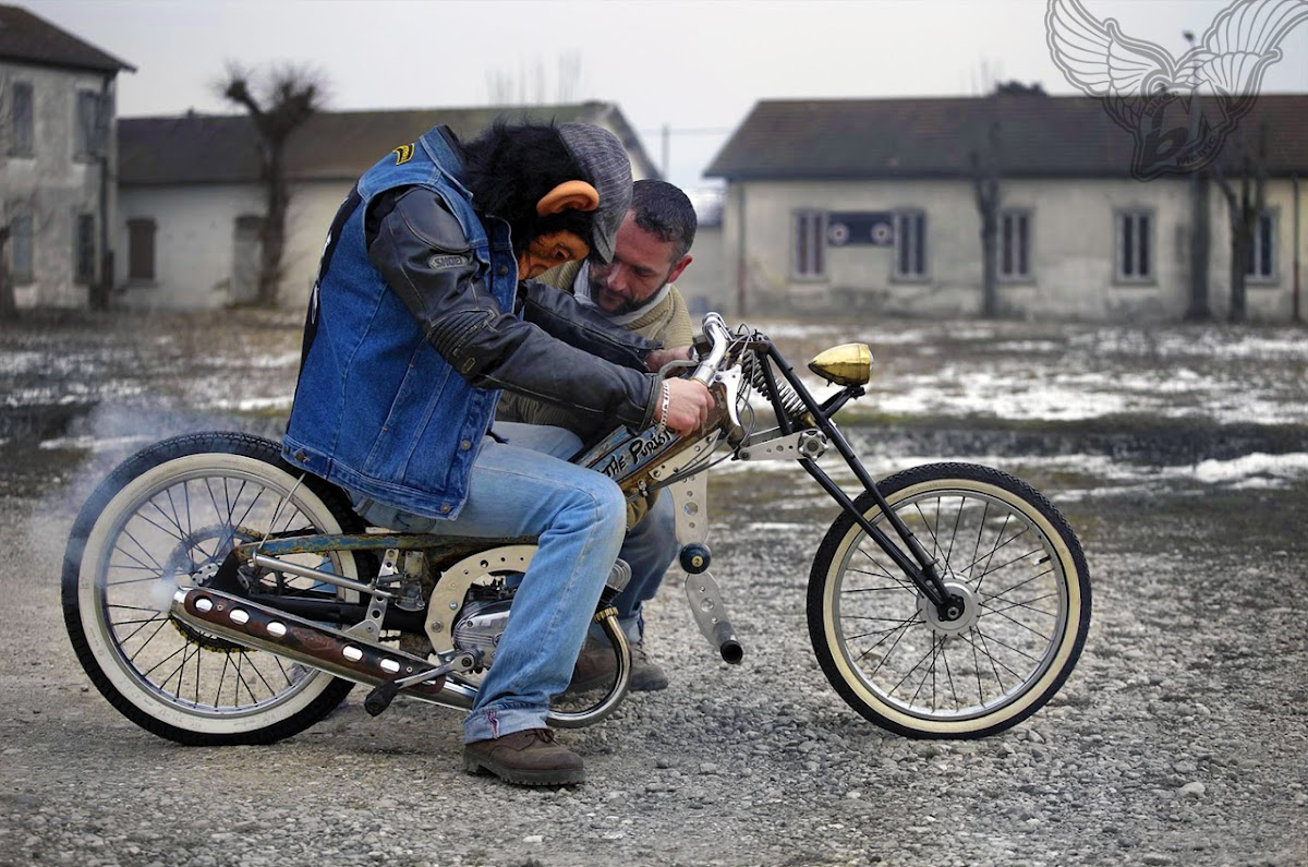 swap meet crap rat bike of the day | frenchmonkeys moped chopper