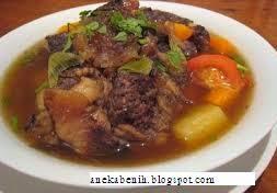 cara membuat rawon, rawon daging, rawon lezat, rawon enak