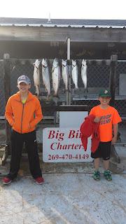 okuma reels, perch fishing, pure michigan, lake michigan, michigan tourism