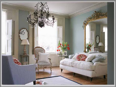 Design of Living Room, Shabby Chic Style, Shabby Chic Living Room,