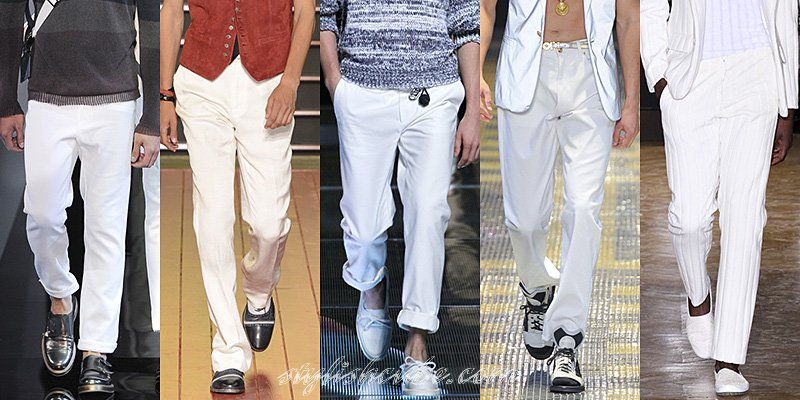 Spring Summer 2013 Men's Fashion Pants Trends